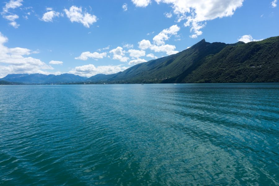 The Lake Bourget in all of its beauty