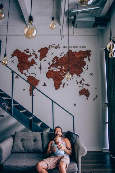 Tinggly blogger house loft in Vilnius