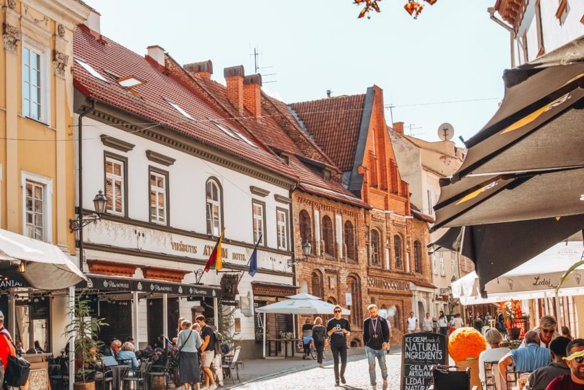 Visit Vilnius old city center