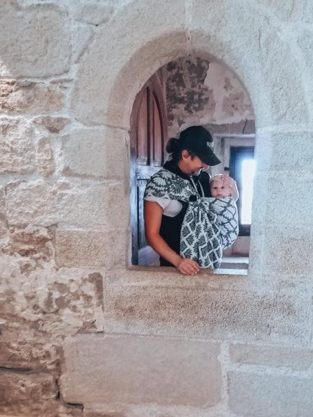 A travers une ouverture lors de notre visite au château de Suscinio-10