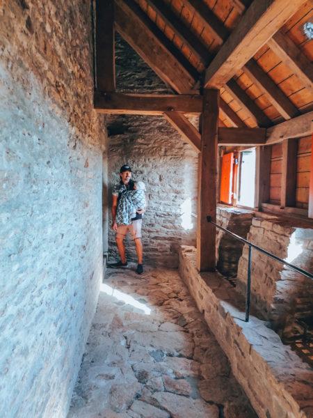 Les fenêtres lors de notre visite au château de Suscinio-15