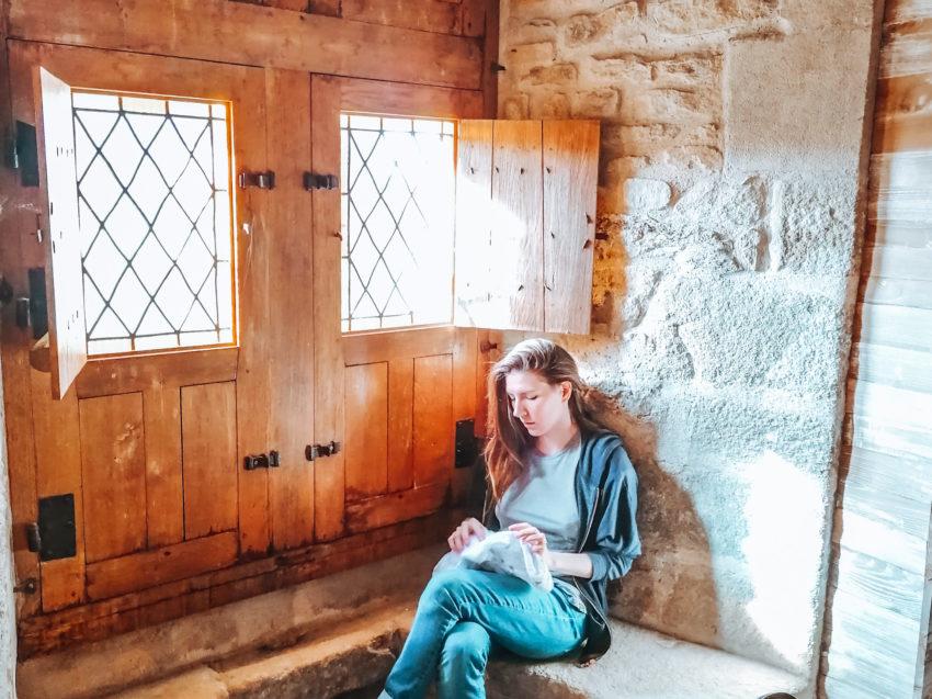 Pause lors de notre visite au château de Suscinio-16