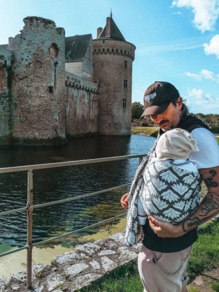 Devant le château ors de notre visite au château de Suscinio-2