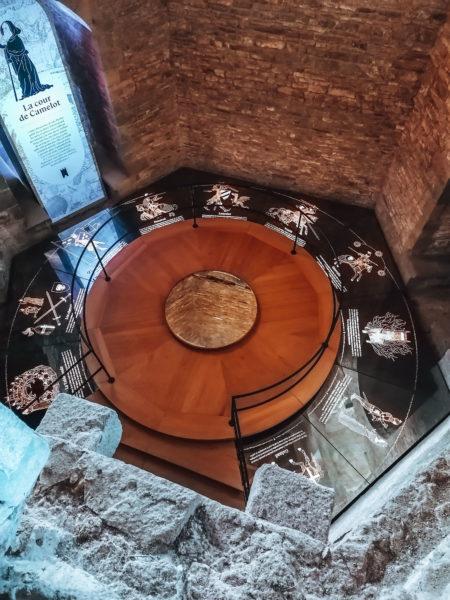 Table Ronde lors de notre visite au château de Suscinio-22