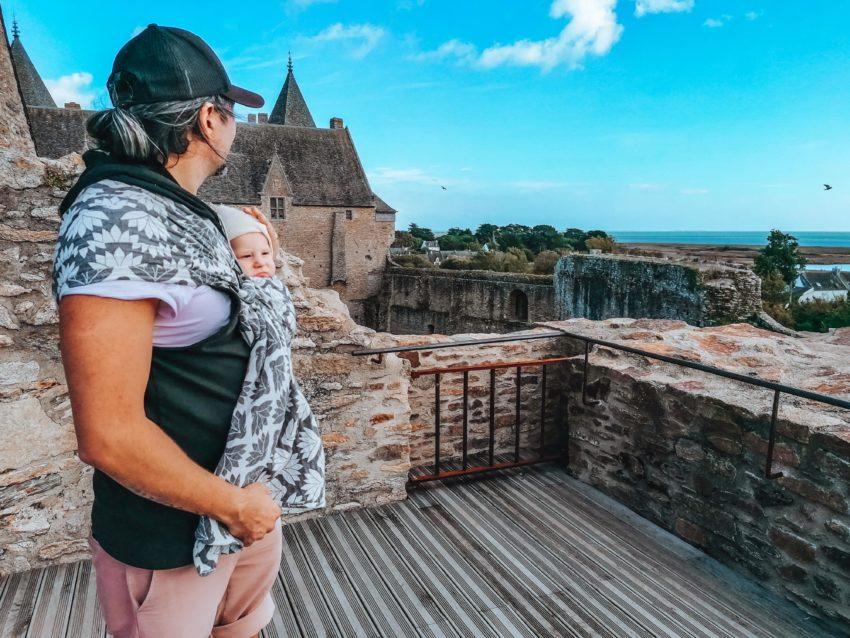 Point de vue lors de notre visite au château de Suscinio-25