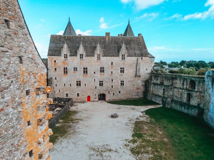 La cour extérieur du château de Suscinio-27