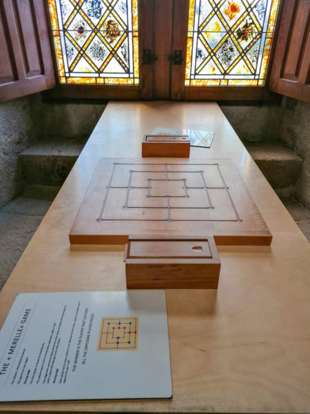 Les jeux à dispo lors de notre visite au château de Suscinio-5