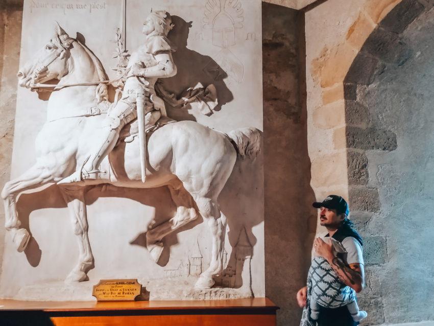 Une des salles lors de notre visite au château de Suscinio-8