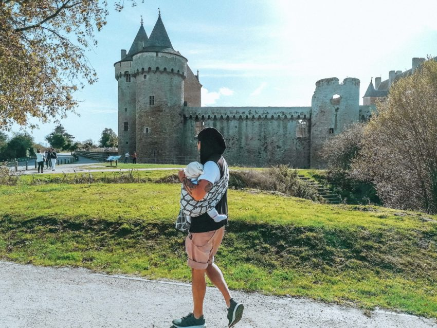 Notre arrivée au château de Suscinio