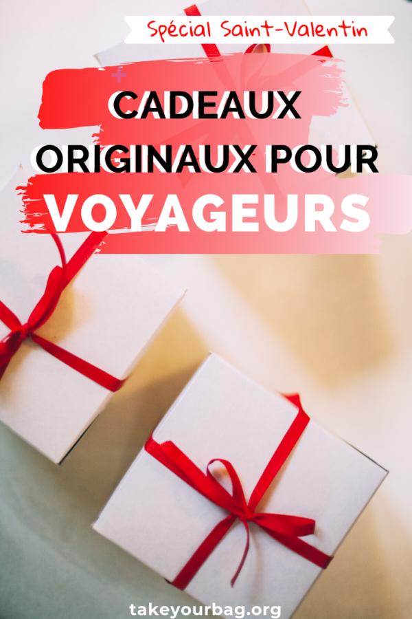 Pin - Cadeaux originaux pour voyageurs pour la saint valentin Pinterest
