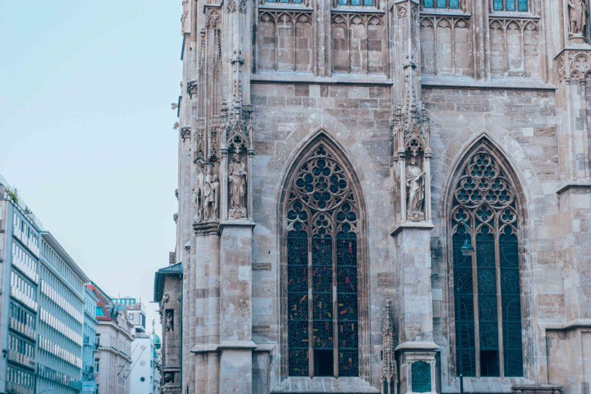 Détail de la Cathédrale Saint-Etienne de Vienne