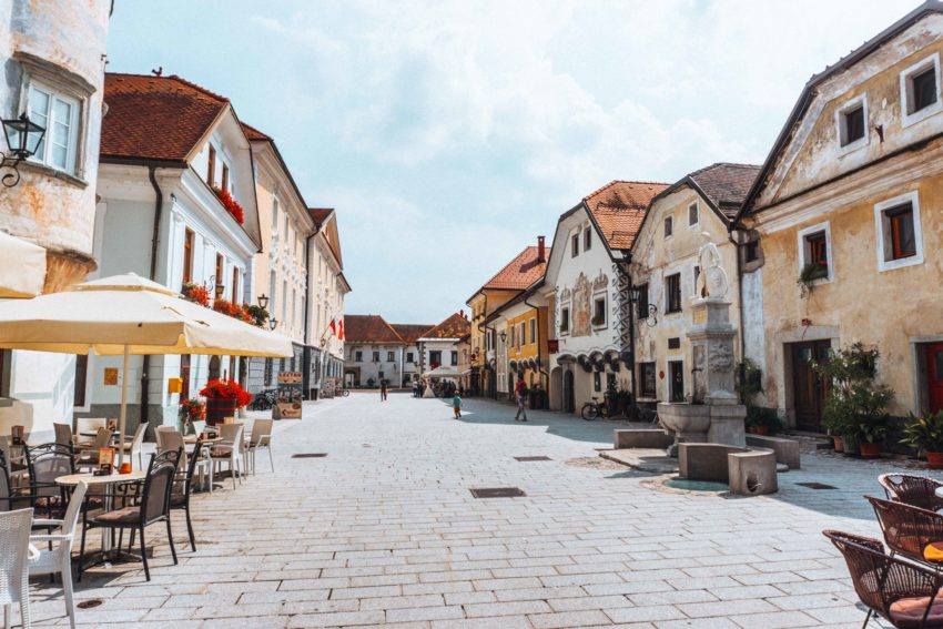 Radovljica, a fairytale town in Slovenia