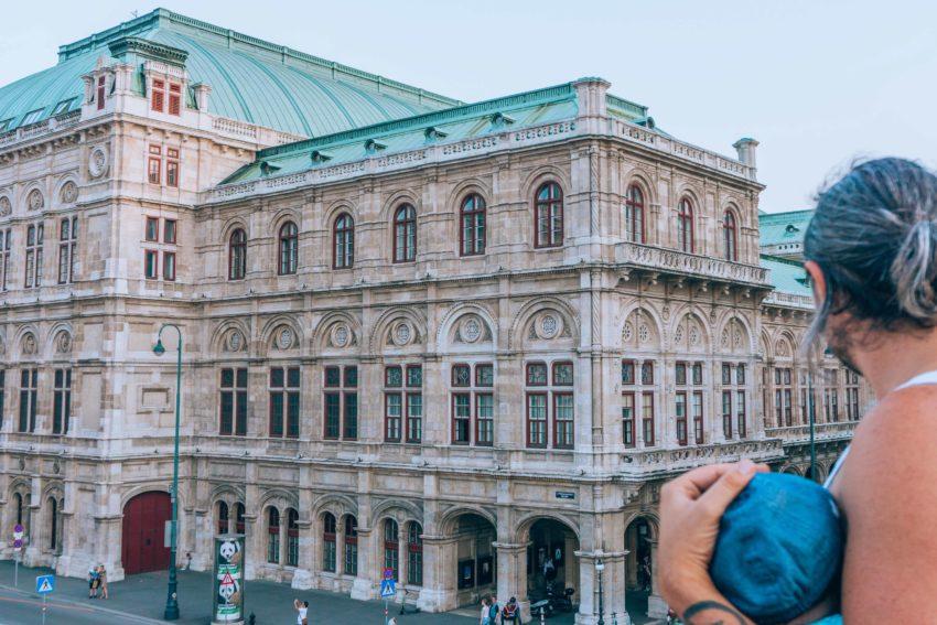 Vue de l'Opéra d'Etat de Vienne en 1 jour à Vienne