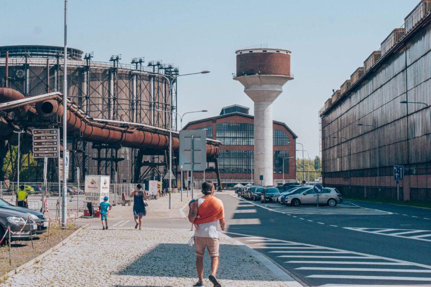 Arriving in Dolni Vitkovice Ostrava Czech Republic