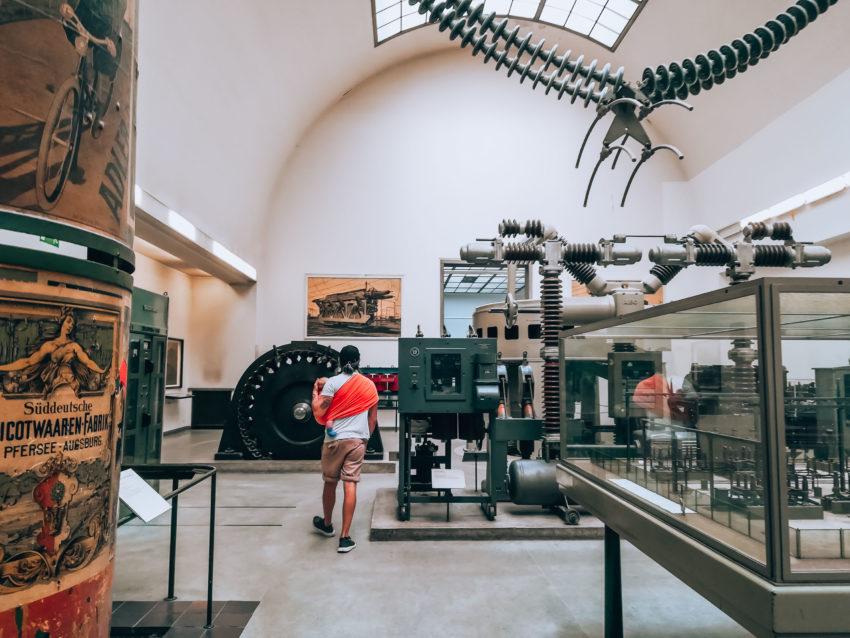 Inside the Deutsches Museum in a day in Munich