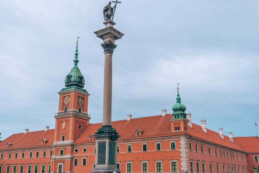 Sigismund column on Castle Square in Warsaw