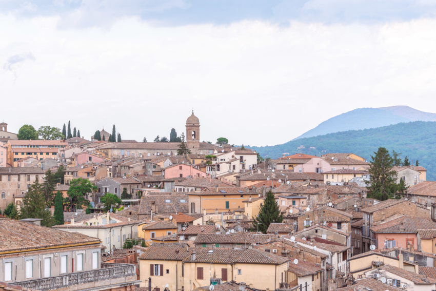 Other point of view from the Porta del Sole in Perugia