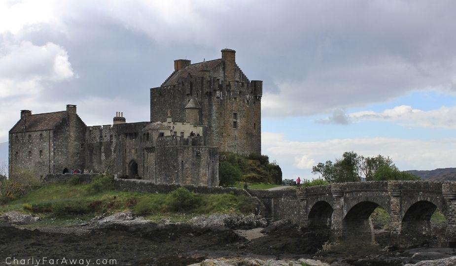 Château d'Eilean Donan en voyage en Ecosse