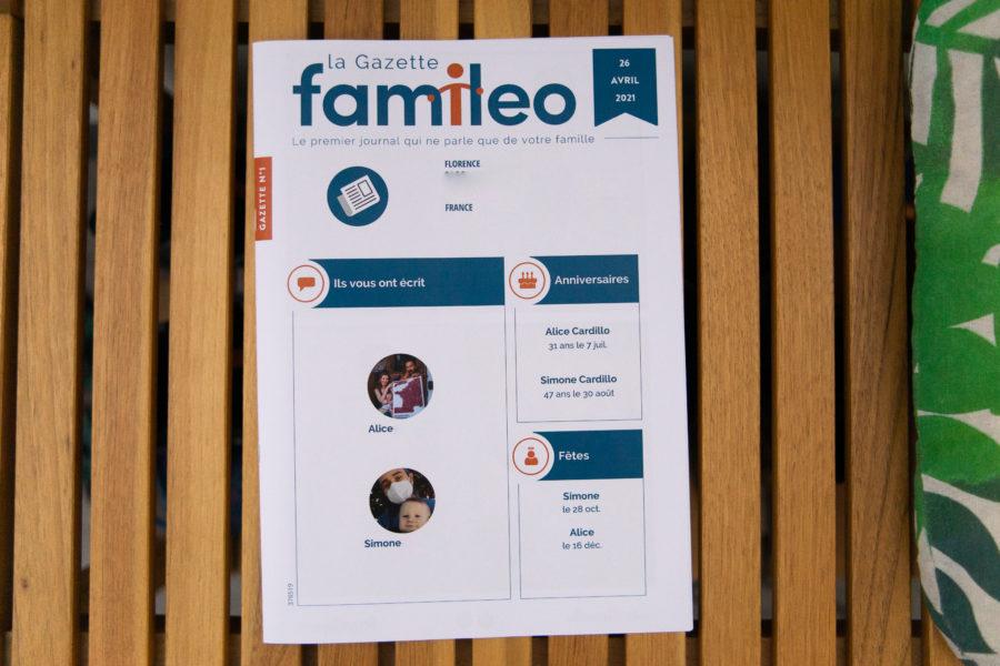 La gazette Famileo pour les grands-parents